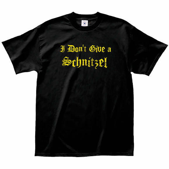 T-Shirt - I Don't Give A Schnitzel