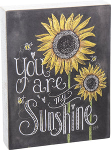 CHALK SIGN MY SUNSHINE