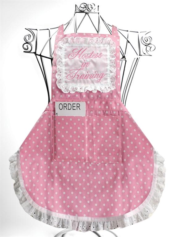 Hostess in Training Child Apron