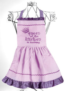 Queen of the Kitchen Child Apron
