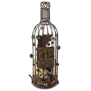 Wine Bottle Cork Cage