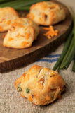 Bacon Cheddar Scones - Pack of 4