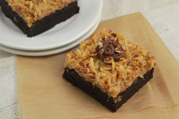 German Chocolate Brownie - 1pc