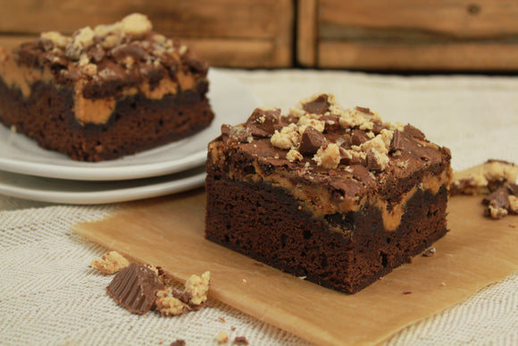 Peanut Butter Chocolate Brownie - 1pc