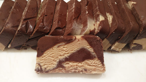 Chocolate Peanut Butter Fudge - 1/2 lb.