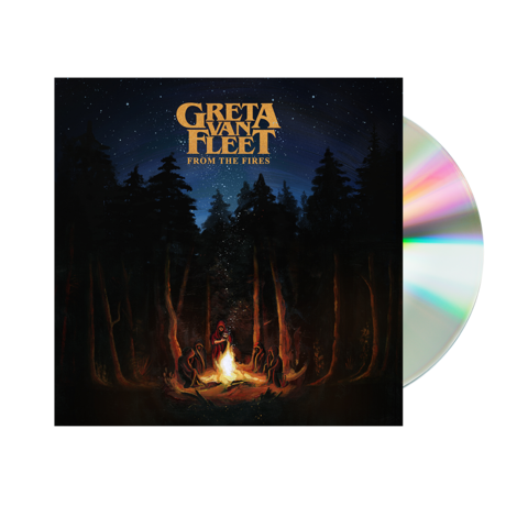 Greta Van Fleet CD - From the Fires
