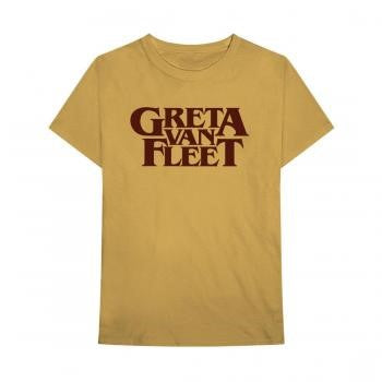 Greta Van Fleet Gold Logo Tee - 2XL