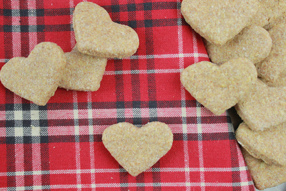 Cheddar Heart Dog Treats - 10pc
