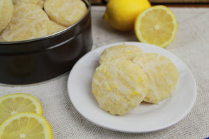 Lemon Cookie Tin