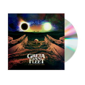 Greta Van Fleet CD - Anthem Of The Peaceful Army