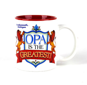 """Opa is the Greatest"" Mug"