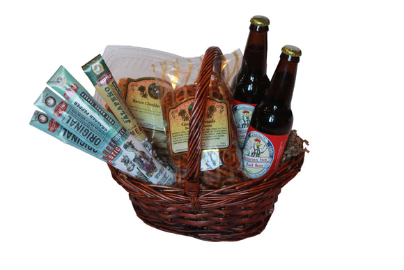 Something Savory Gift Basket