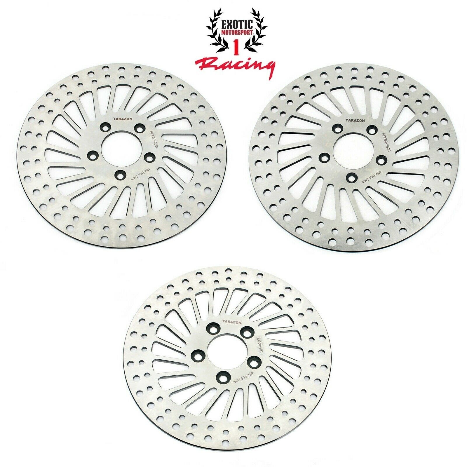 TARAZON 11.5 Rear Brake Disc Rotor for Harley Touring Electra Glide Standard Classic Ultra Classic Electra Glide