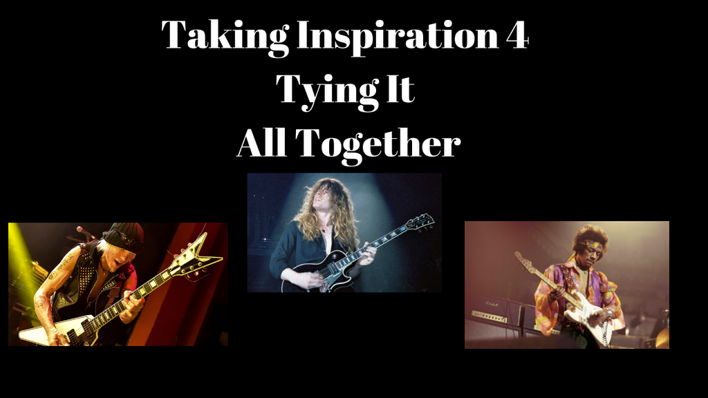 Taking Inspiration Part 4-Tying it all together