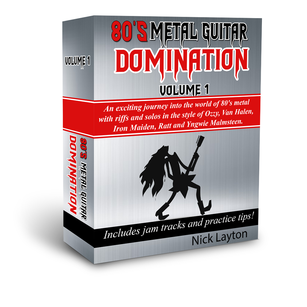 80's Metal Guitar Domination V1