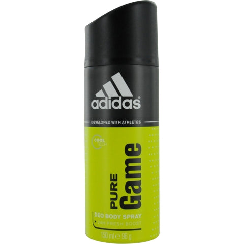 ADIDAS PURE GAME by Adidas DEODORANT BODY SPRAY 5 OZ (DEVELOPED WITH ATHLETES)
