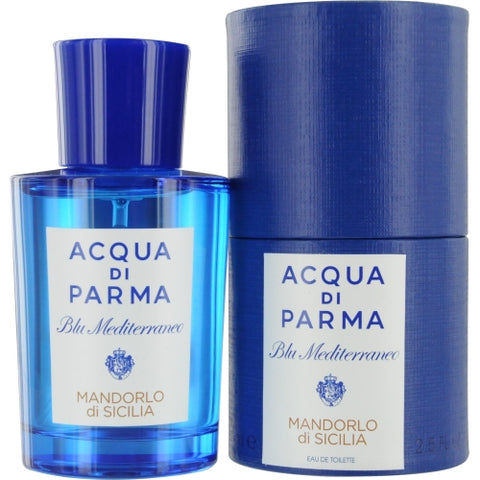 ACQUA DI PARMA BLUE MEDITERRANEO by Acqua Di Parma MANDORLO DI SICILIA EDT SPRAY 2.5 OZ
