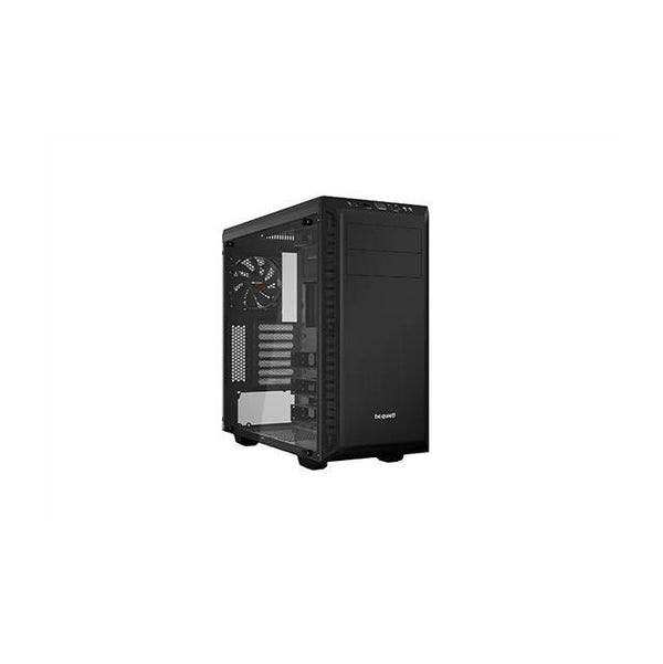 be quiet! Pure Base 600 No Power Supply ATX Mid Tower w- Window (Black)
