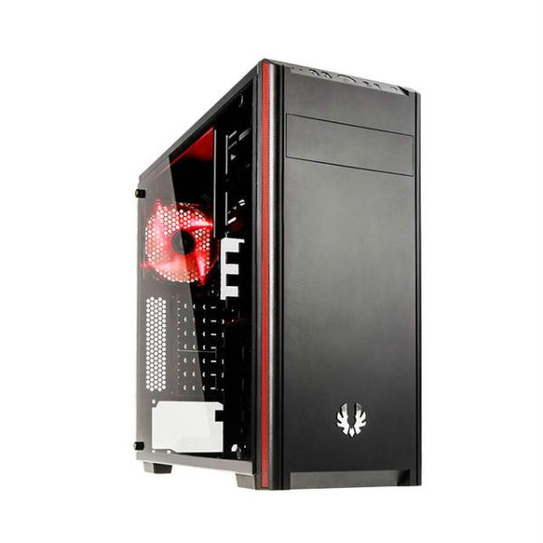 BitFenix Nova TG Window BFX-NTG-100-KKWSK-RP No Power Supply ATX Mid Tower (Black)