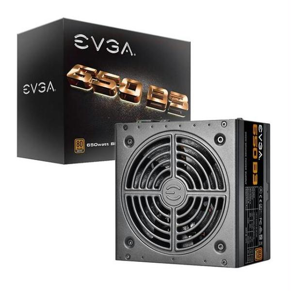 EVGA 650 B3 220-B3-0650-V1 650W 80 PLUS Bronze Power Supply w- Fully Modular & EVGA Eco Mode