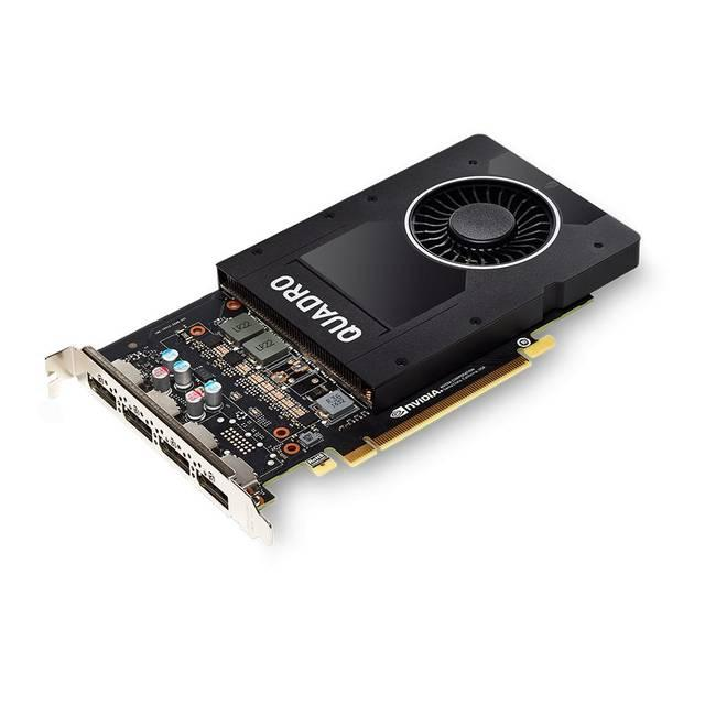 PNY NVIDIA Quadro P2000 5GB GDDR5 4DisplayPorts PCI-Express Video Card