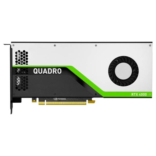 PNY NVIDIA Quadro RTX 4000 8GB GDDR6 3DisplayPorts-DVI-HDMI-USB Type-C PCI-Express Video Card