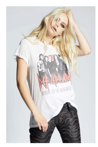 Def Leppard Bringin' On The Heartbreak Tee