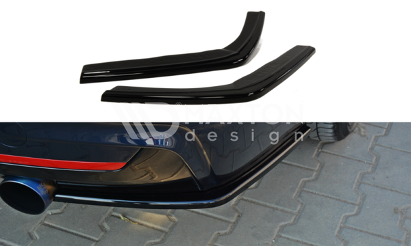 BMW - 4 Series - F32 - M Pack - Rear Side Splitters