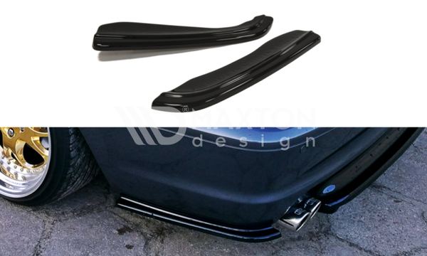 BMW - 3 Series - E46 - M Pack - Coupe - Rear Side Splitters