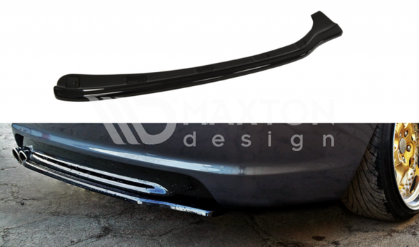 BMW - 3 Series - E46 - M Pack - Coupe - Center Rear Splitter - (Without Vertical Bars)