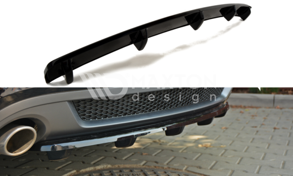 Audi - A5 B8 - S-Line - Rear Splitter (with bars)