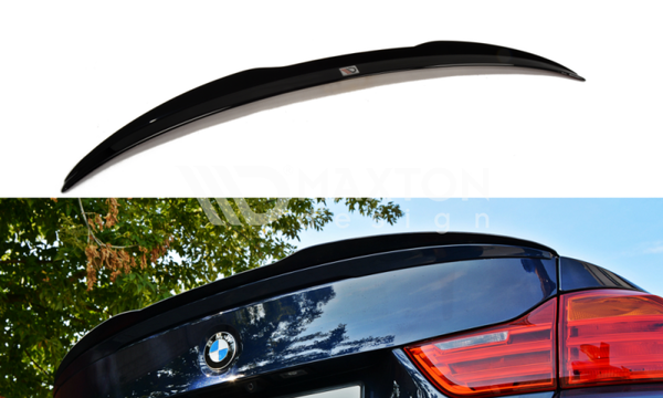 BMW - 4 Series - F32 - M Pack - Rear Spoiler Extension