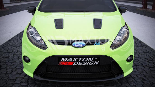 Ford Fiesta - MK7 - RS Look - Bonnet Vents Imitations