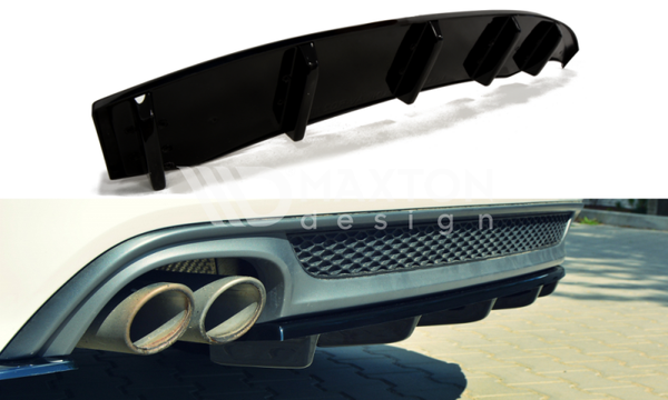Audi - A6 C7 - S-Line - Central Rear Splitter