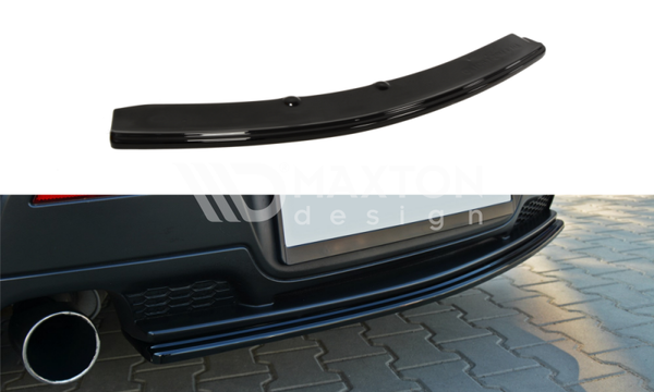 Mazda - 3 MPS MK1 - Central Rear Splitters - Preface - Without Vertical Bars