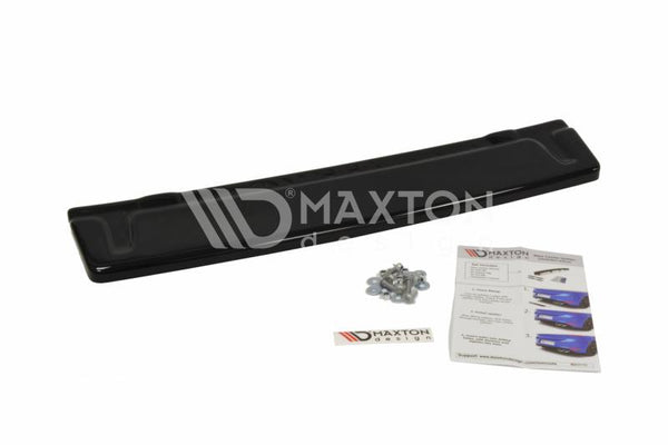 Volkswagen - MK7 Golf R - Central Rear Splitter - Without Vertical Bars