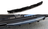 Mercedes - CLS - W218 - Central Rear Splitter - With Vertical Bar