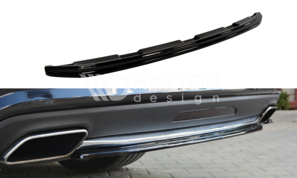 Mercedes - CLS - W218 - Central Rear Splitter - Without a Vertical Bar