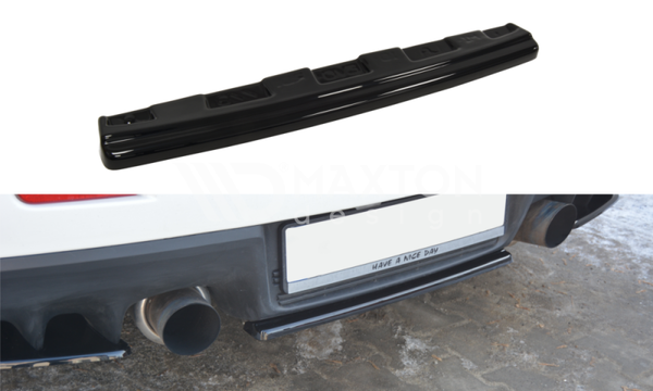 Mitsubishi - Lancer EVO X - Central Rear Splitter - Without Vertical Bar