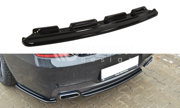 BMW - 6 Series - F06 - MPACK - Central Rear Splitter - Without Vertical Bars