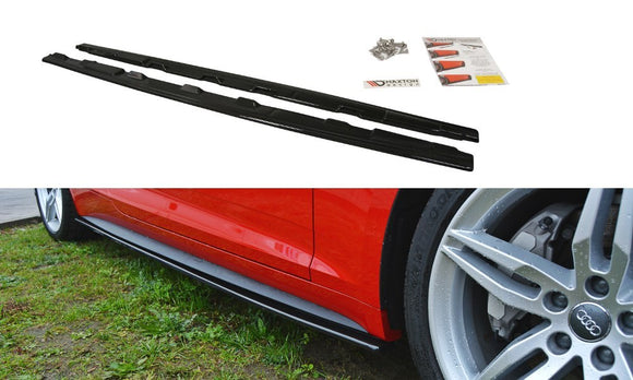Audi - A5 B9 - S-Line - Side Skirt Diffusers