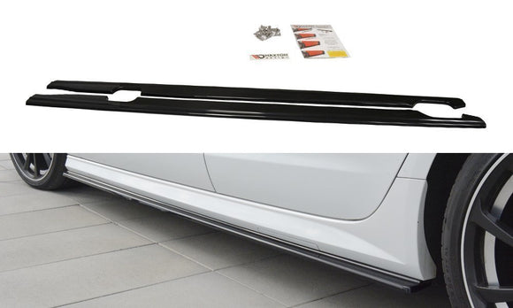 Audi - A6 C7 / S6 C7 - S-Line - Side Skirts Diffusers - Facelift