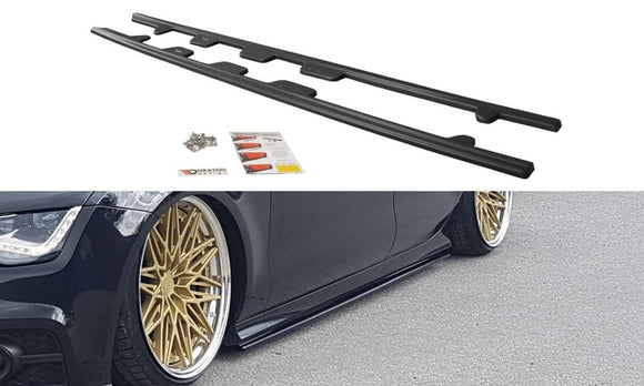 Audi - A7 - S-Line - Preface - Side Skirts Diffusers