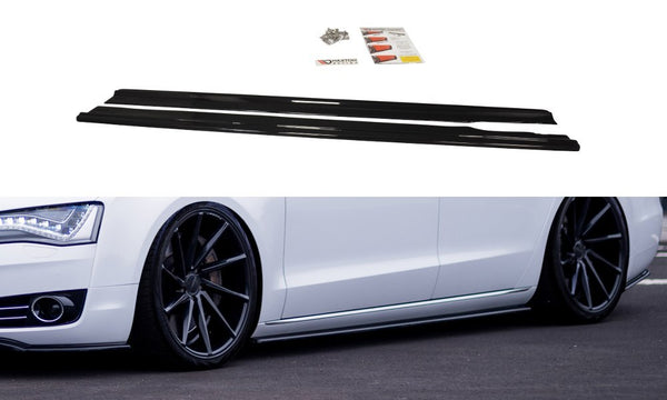Audi - A8 D4 - Side Skirts Diffusers