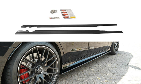 Mercedes - C-Class - C63 AMG Wagon - W205 - Side Skirt Diffusers