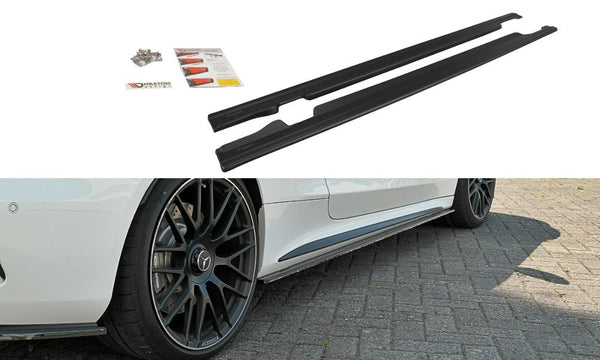 Mercedes - C-Class - C63 AMG Coupe - W205 - Side Skirt Diffusers