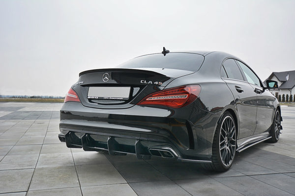 Mercedes - CLA - 45 AMG - C117 - Racing Rear Diffusers - FACELIFT - V1