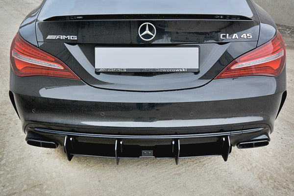 Mercedes - CLA - 45 AMG - C117 - Racing Rear Diffusers - FACELIFT - V2