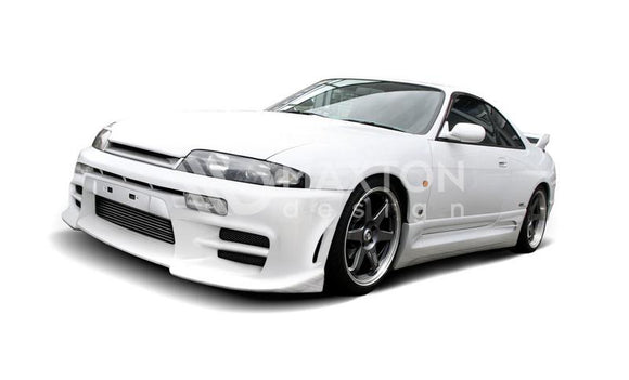 Nissan - Skyline R33 GTS - Front Bumper