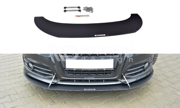 Audi - S3 8P - Front Racing Splitter - Facelift